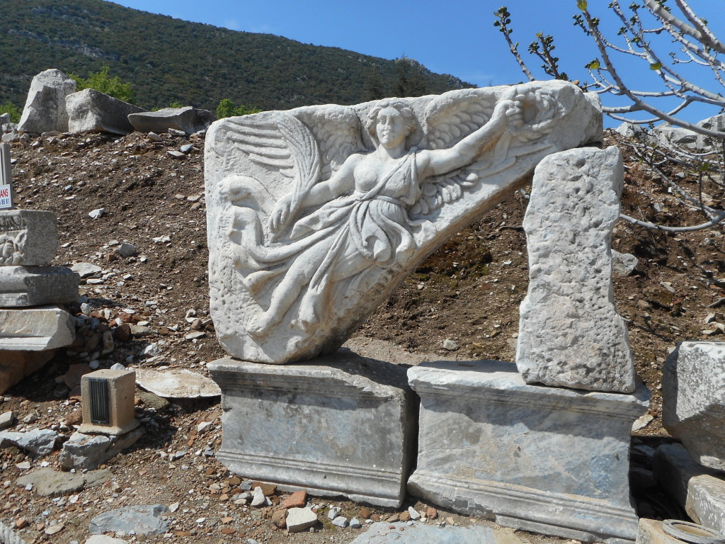 Nike, the Roman goddess of victory