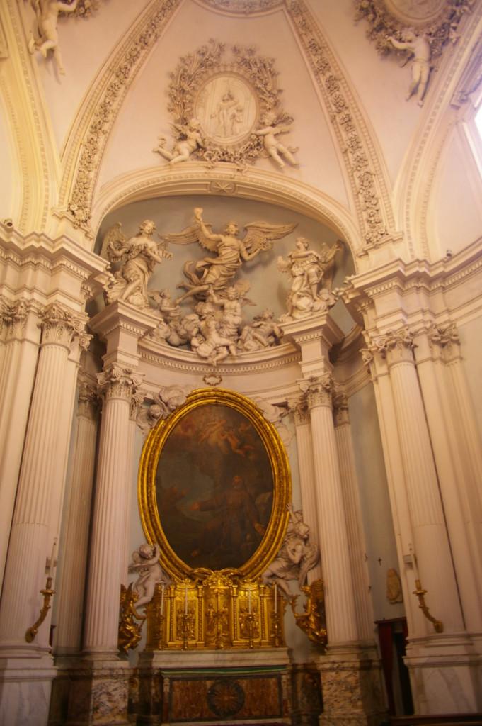 Detail inside the Basilica di San Giovanni in Laterano