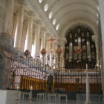 Inside the cathedral of St Blaise.